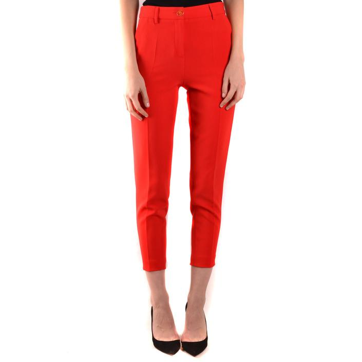 Boutique Moschino Women's Trouser Red 170982 - red 40