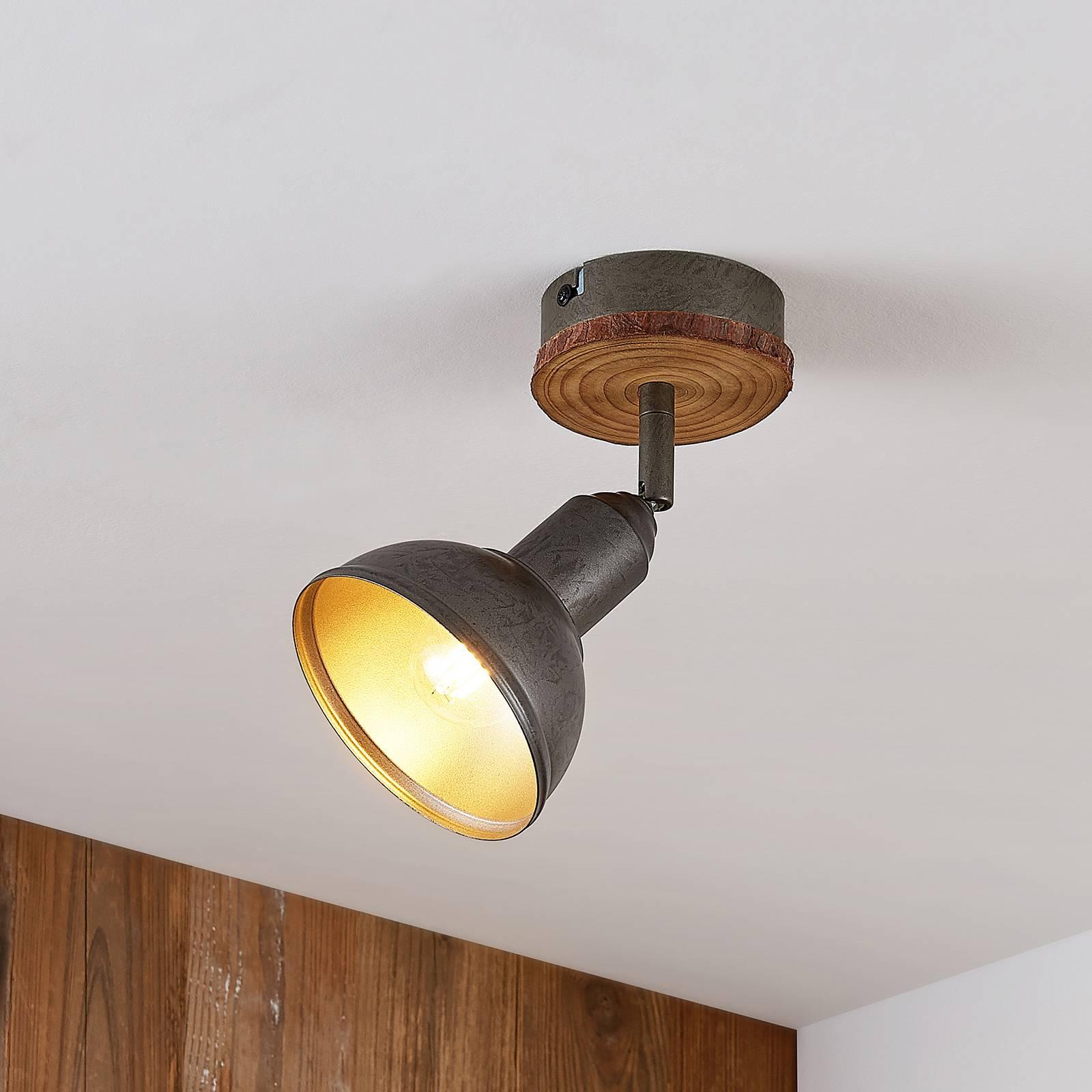 Lindby Nesrin -kattokohdevalo 1-lamppuinen