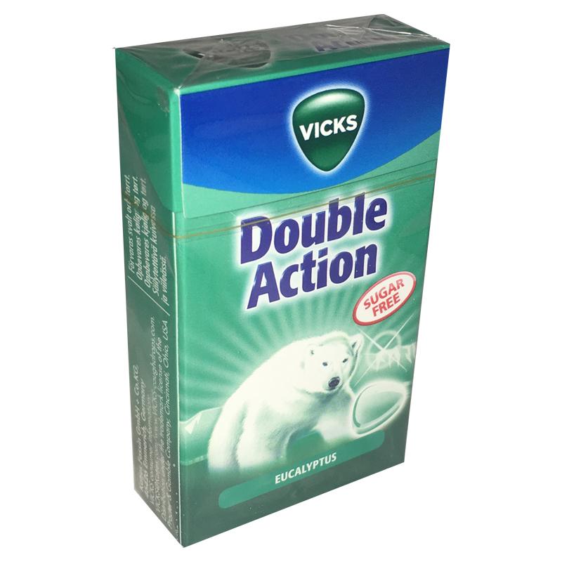 Pastiller Double Action Eucalyptus - 33% rabatt