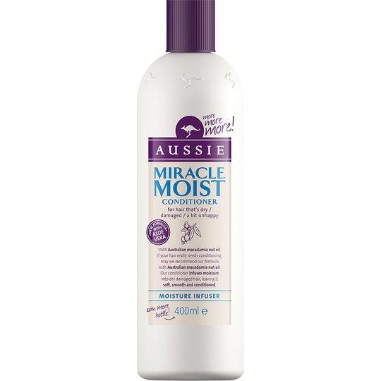 Miracle Moist Conditioner, 400 ml Aussie Hoitoaine