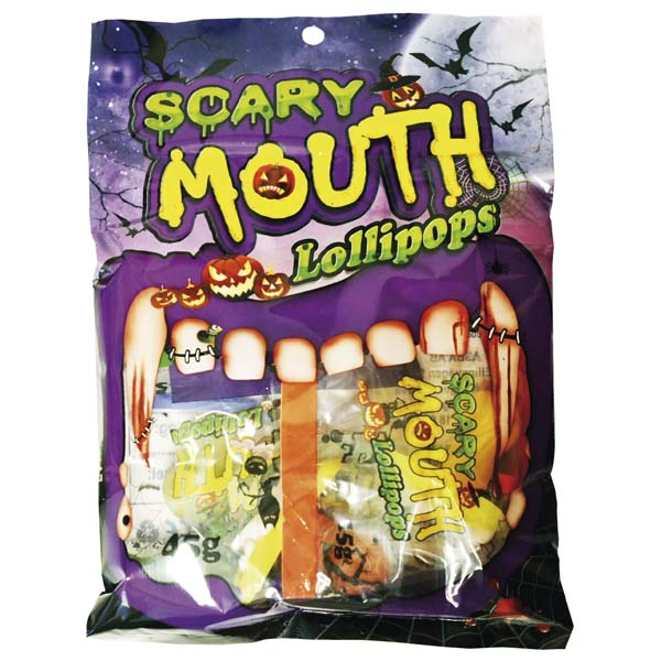 Scary Mouth Pop Bag - 45g