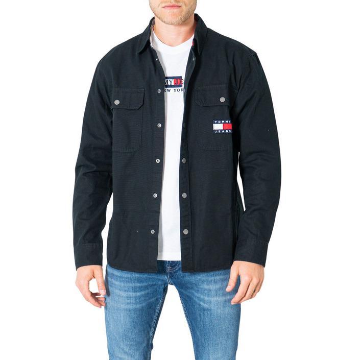 Tommy Hilfiger Jeans Men's Shirt Black 305671 - black XS
