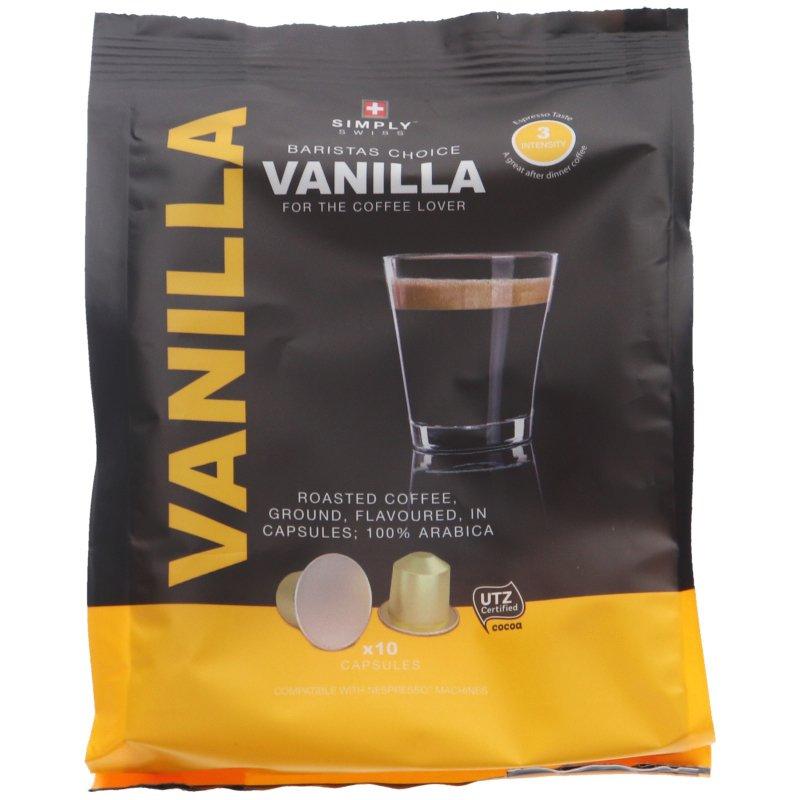Kaffekapslar Nespresso Vanilla 10-pack - 46% rabatt