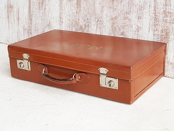 Brown Vintage Suitcase Brown