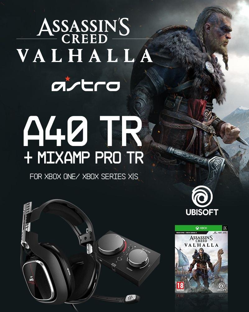 ASTRO A40 TR + MA PRO TR XB1GEN4 & Assassin's Creed Valhalla XB1 - Bundle