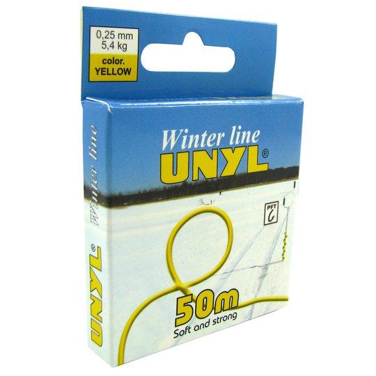 Unyl Winter 50 m gul nylonlina