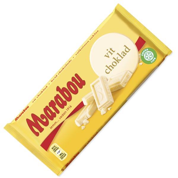 Marabou Vit Choklad - 185g