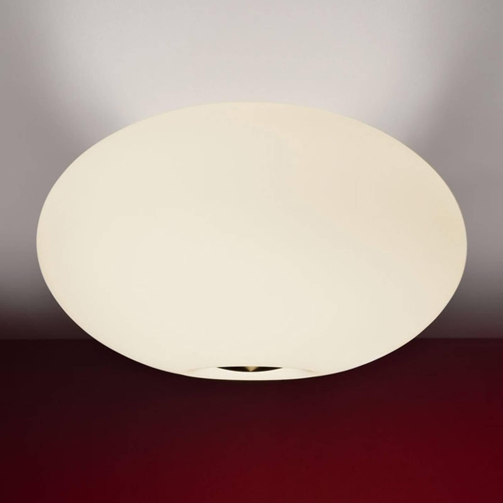 Vakker taklampe AIH 38 cm kremfarget matt