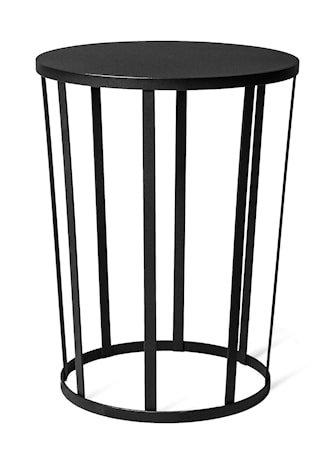 Hollo sidebord/stool – Svart