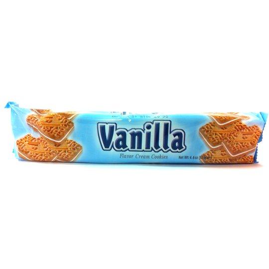 Fyllda kex med vanilj - 28% rabatt