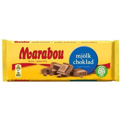 Marabou Mjölkchoklad 100 gr