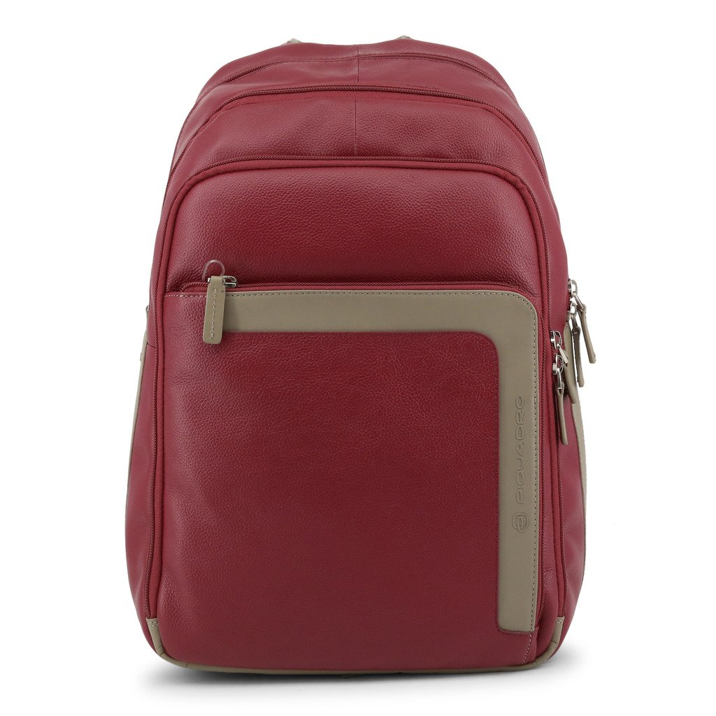 Piquadro Men's Backpack Red CA1813X1 - red NOSIZE