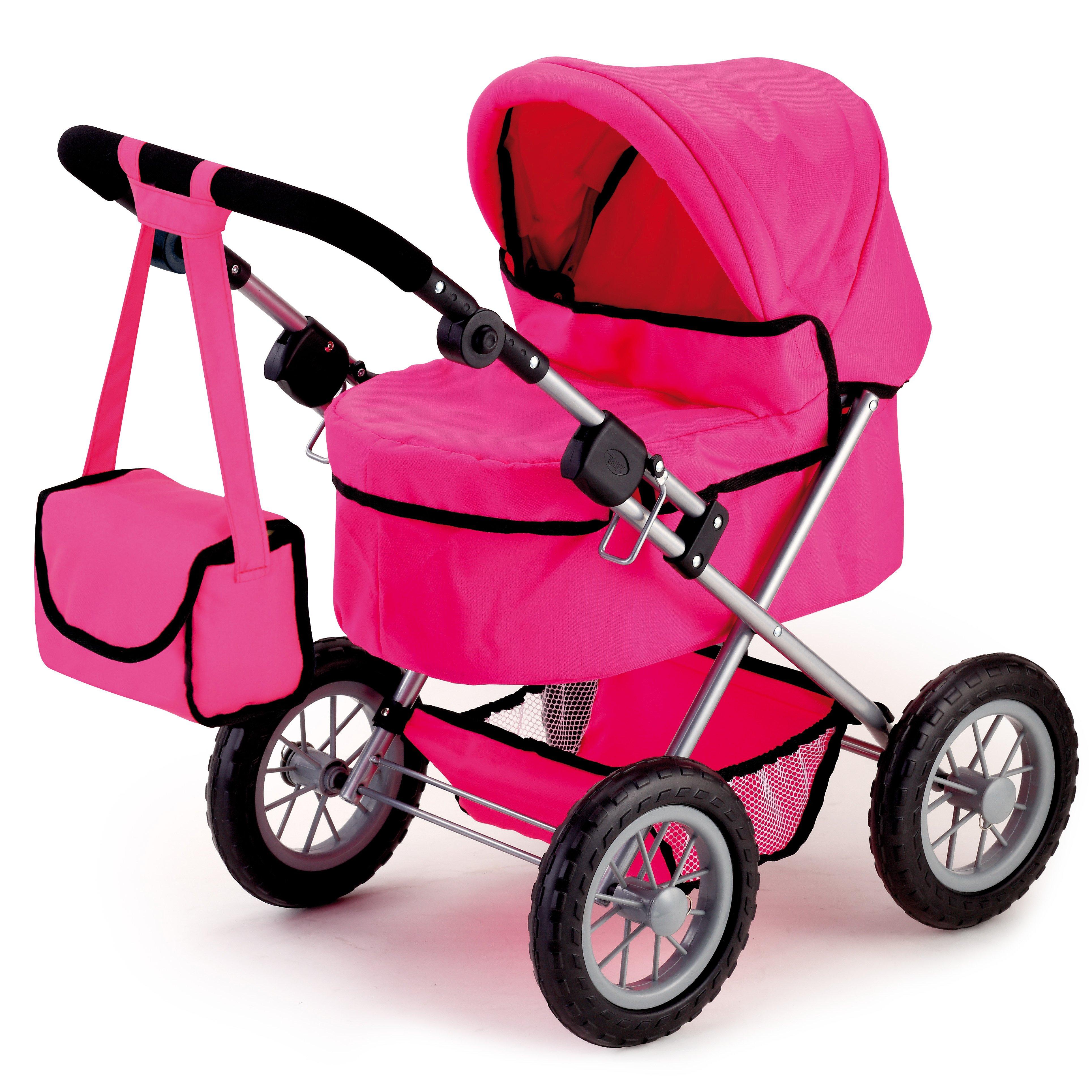 Bayer - Dolls Pram - Trendy - Pink (13029AA)