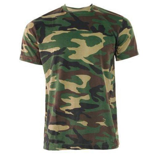 Game Camouflage T-Shirt - Woodland S