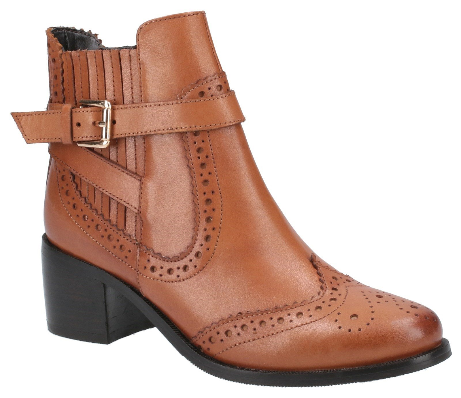 Hush Puppies Women's Rayleigh Ankle Boots Various Colours 31224 - Tan 8