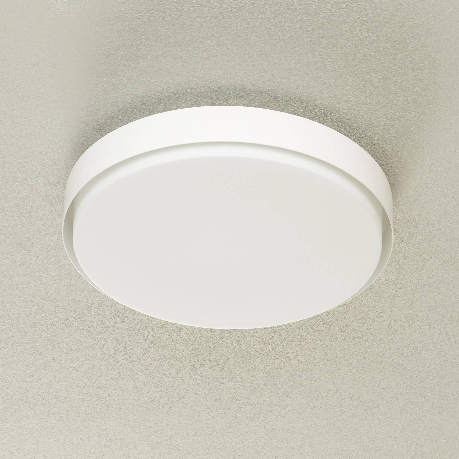 BEGA 34279 LED-kattovalaisin, valkoinen, Ø 42 cm