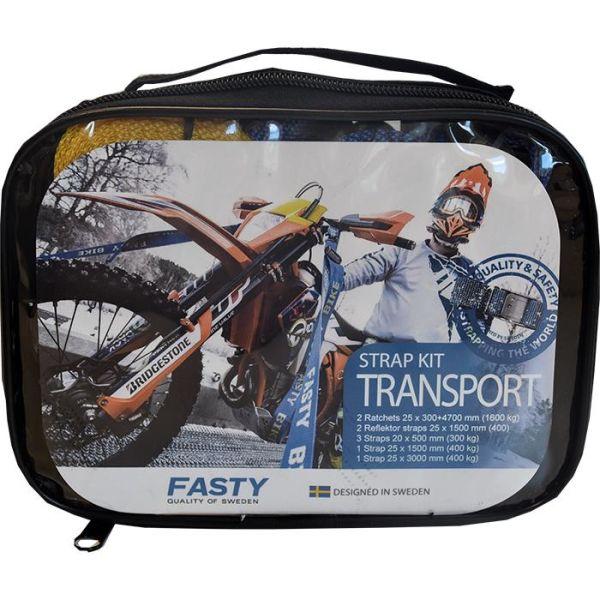 Fasty 316 Spennbåndsett Transport