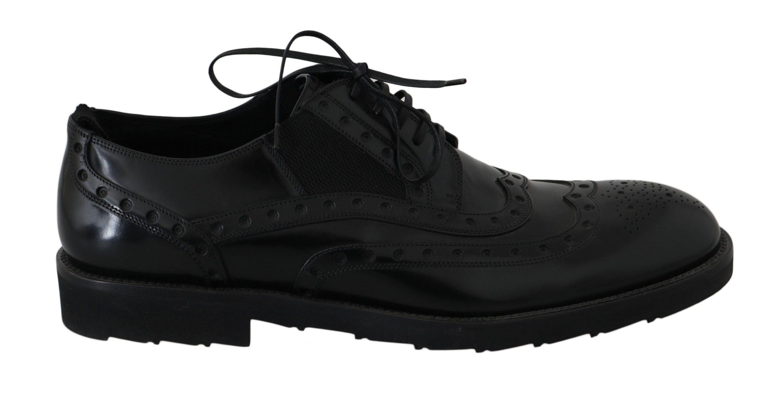 Dolce & Gabbana Men's Shoes Black MV2337 - EU39/US6