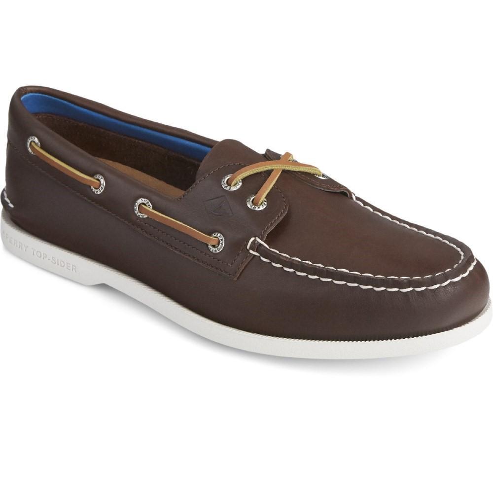 Sperry Men's Authentic Original PLUSHWAVE Boat Shoe Various Colours 31525 - Brown 8