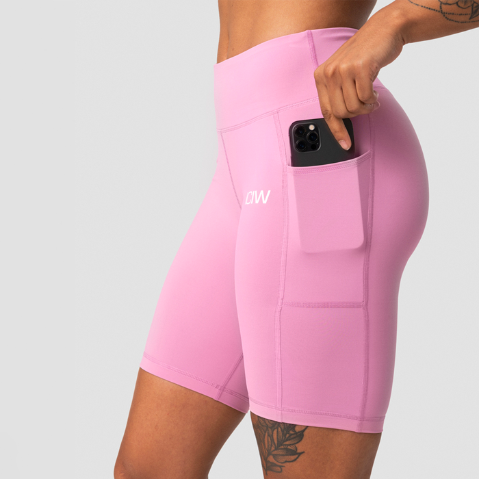Classic Pocket Biker Shorts, Dusty Pink
