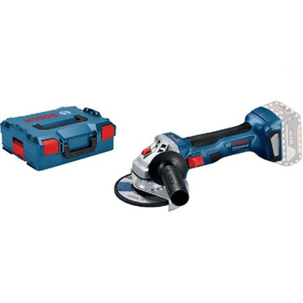 Bosch GWS 18V-7 125 Vinkelsliper uten batteri og lader, i L-Boxx