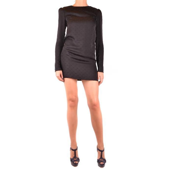 Saint Laurent Women's Dress Black 164436 - black 36