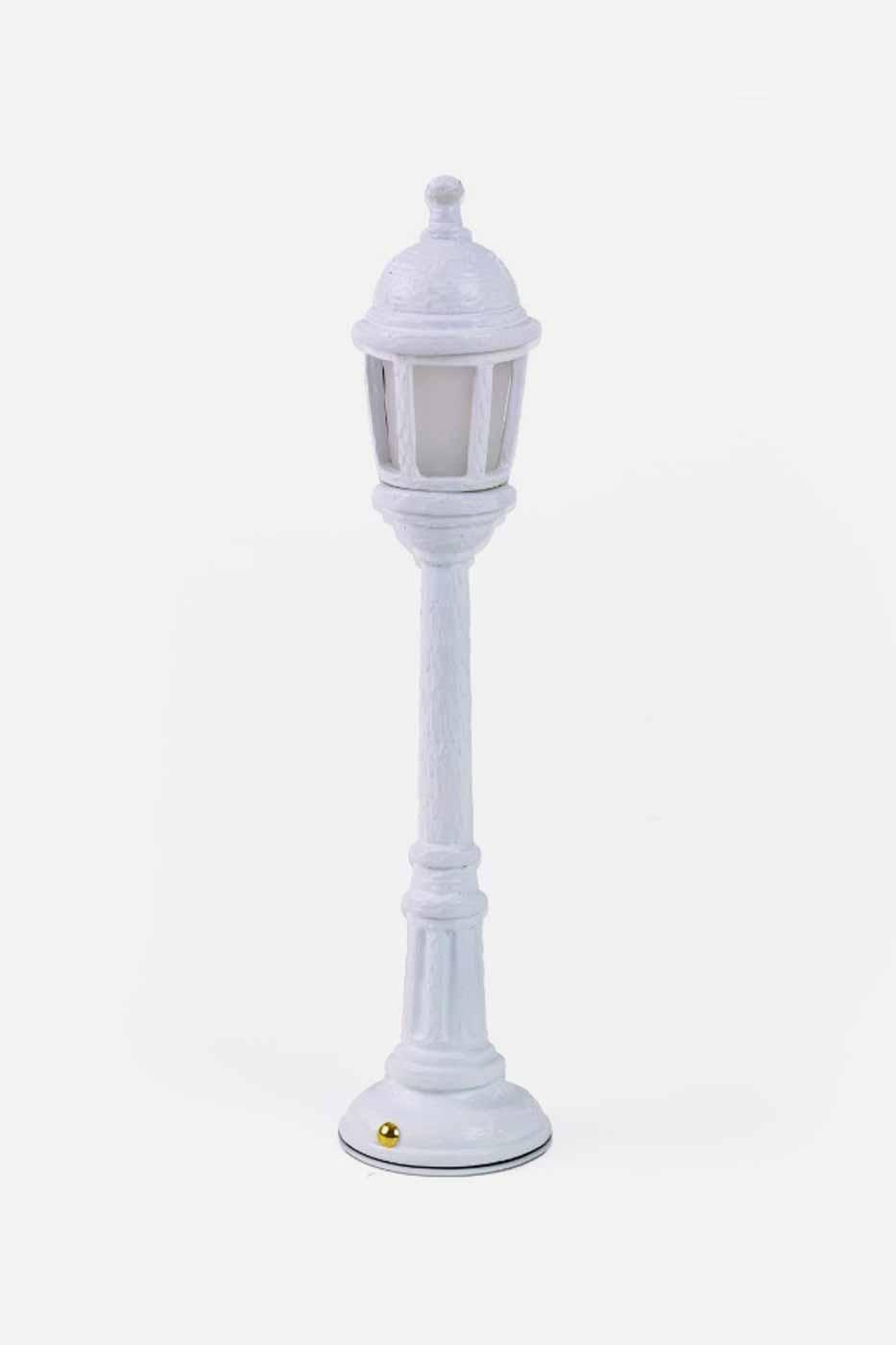 Bordslampa Street lamp vit