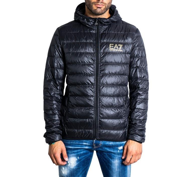 Ea7 Men's Jacket Black 322686 - black XL