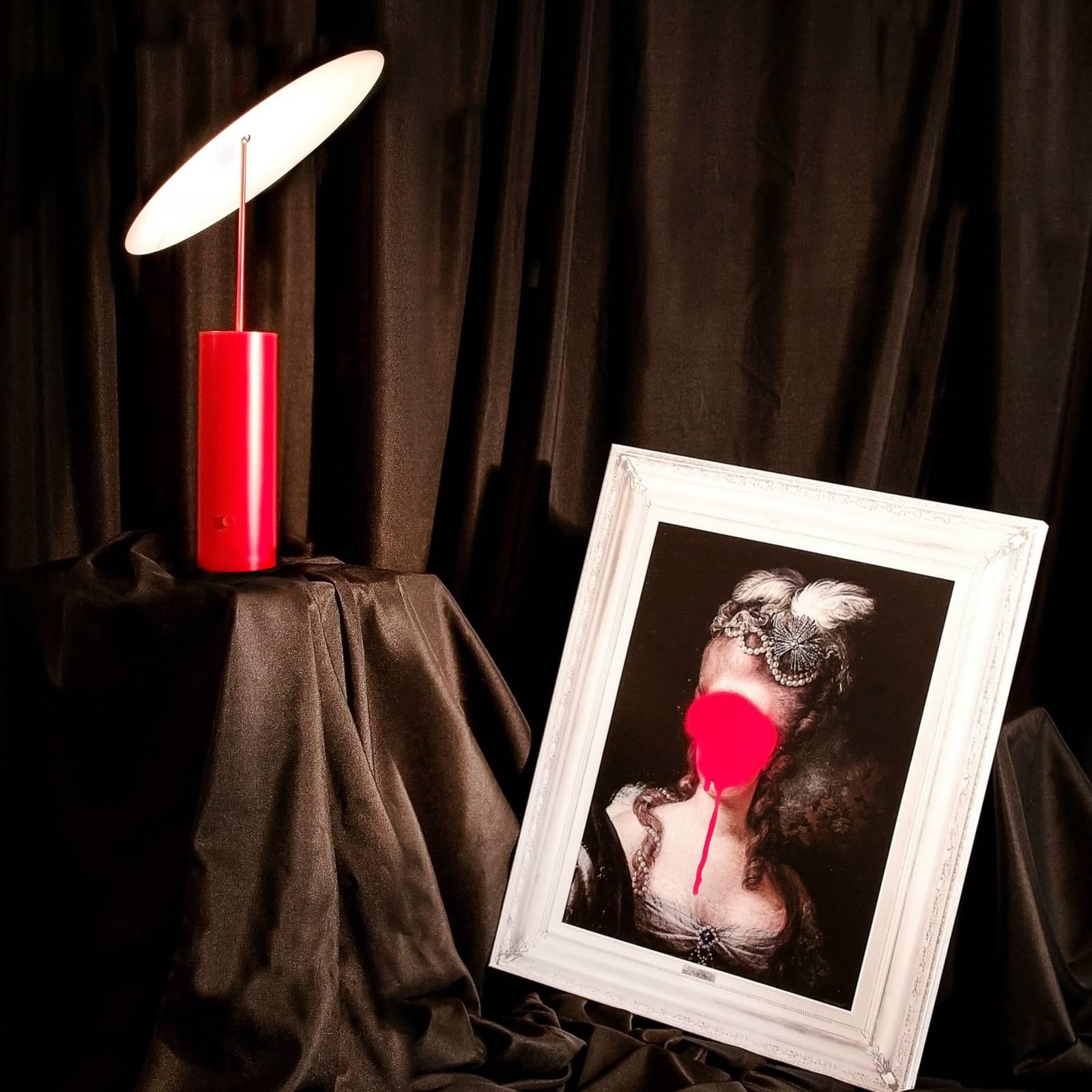 Innermost Parasol -LED-pöytälamppu, punainen