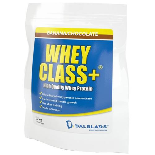 "Whey Class+ ""Banan & Choklad"" 2kg - 56% rabatt"