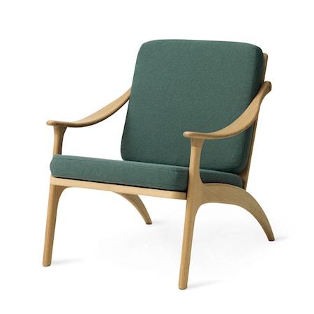 Lean Back Lounge Chair Dark Cyan Ek