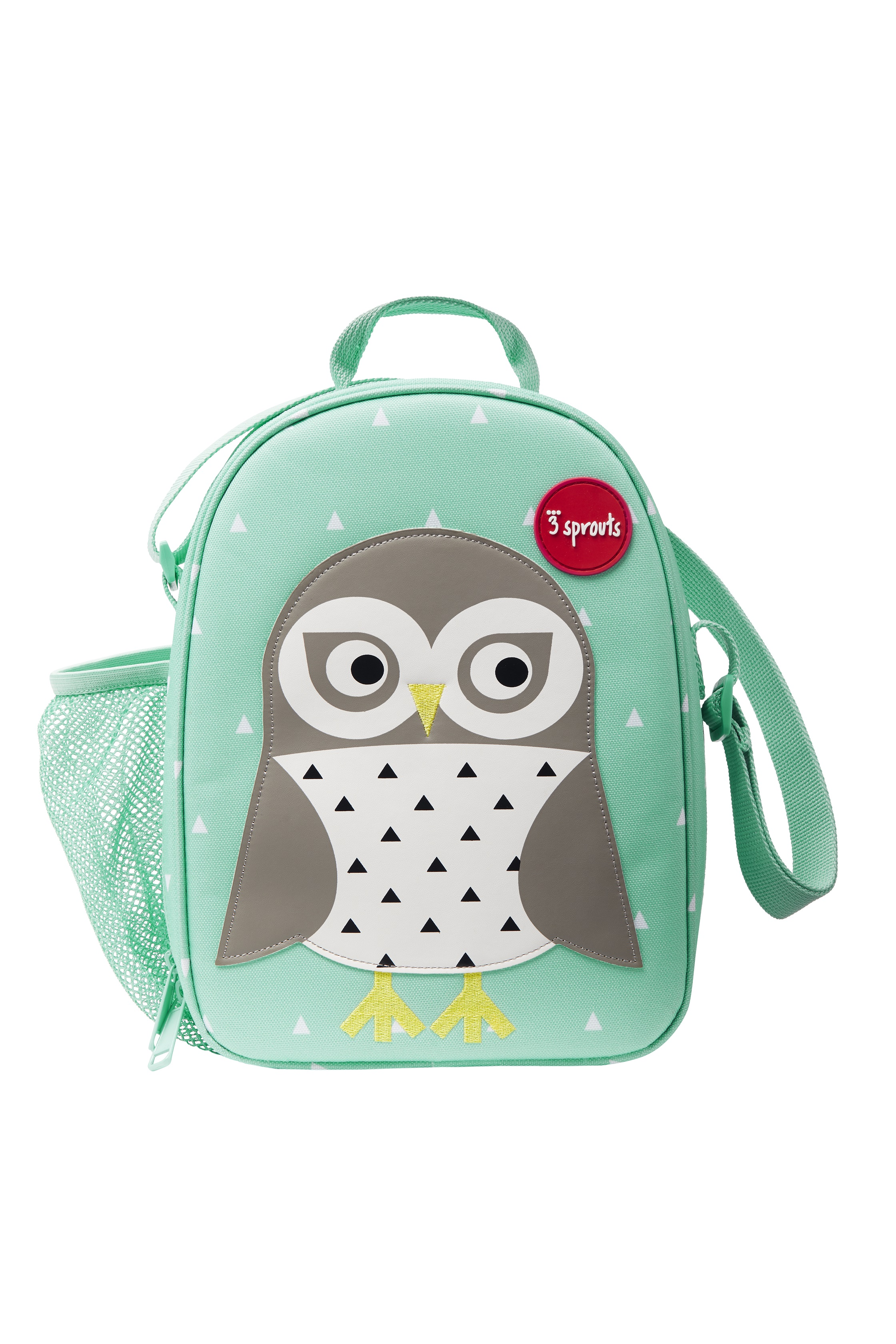 3 Sprouts - Lunch Bag - Mint Owl