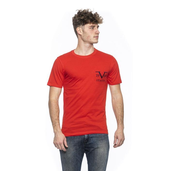 19v69 Italia Men's T-Shirt Red 185299 - red XL