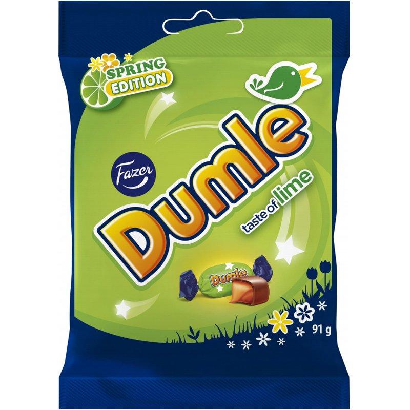 """Dumle """"Lime"""" 91g - 61% rabatt"""