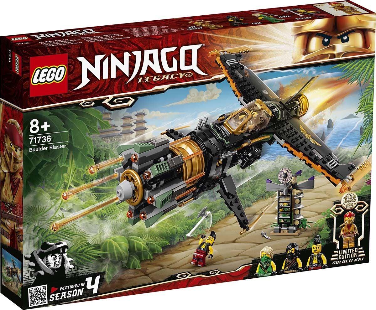 LEGO NINJAGO 71736 Lohkareentuhoaja