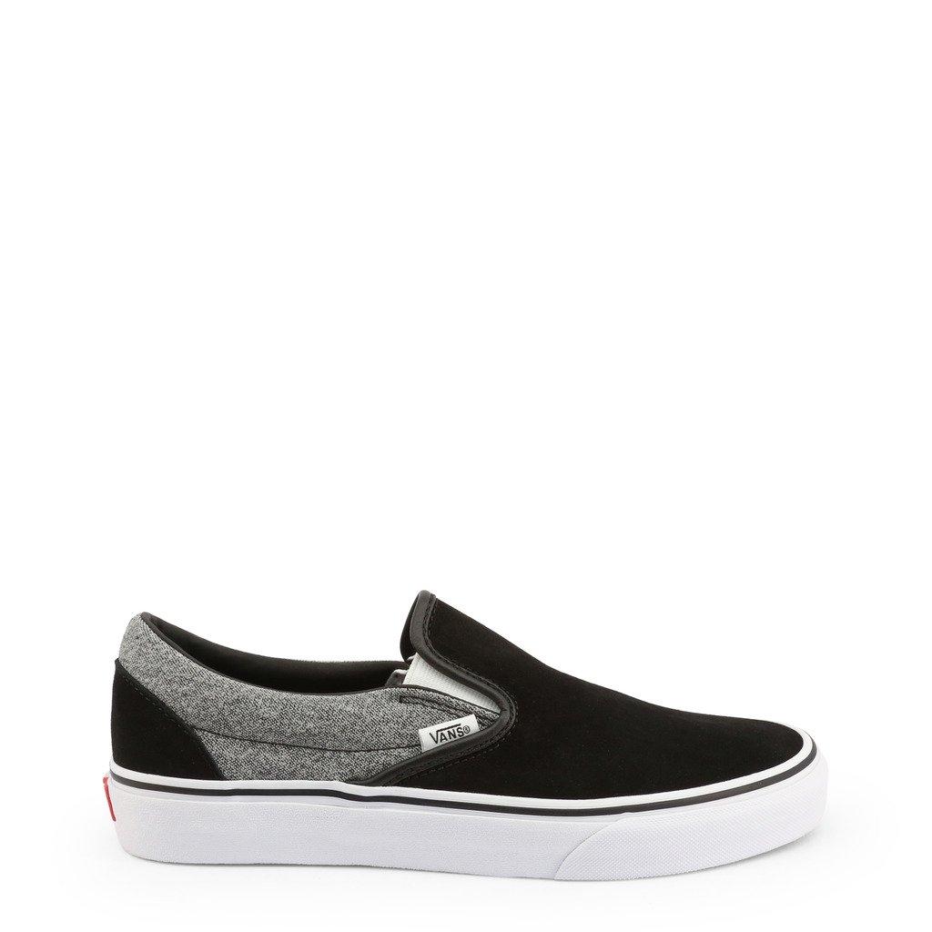 Vans Unisex Slip On Shoe Black CLASSIC-SLIP-ON_VN0A4BV3 - black US 11.5