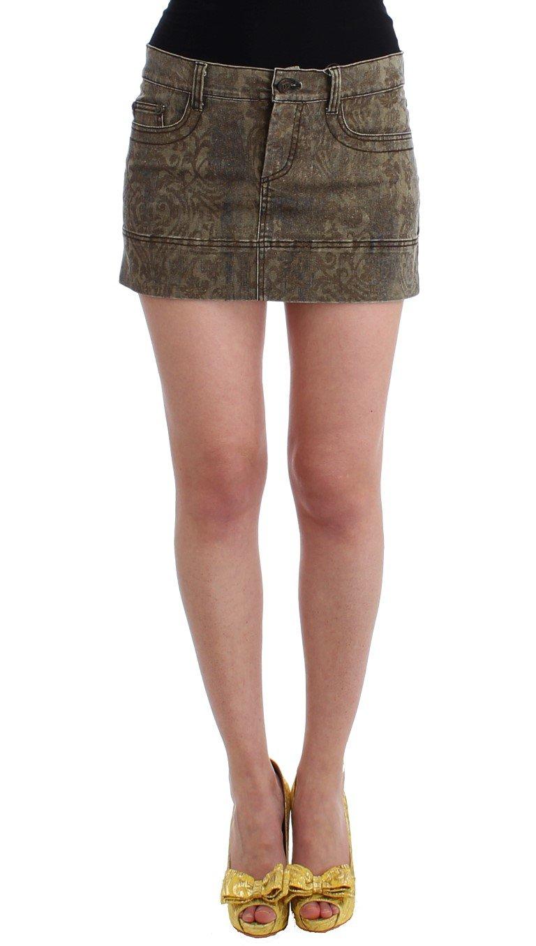 Cavalli Women's Skirt Brown SIG11819 - IT42|M