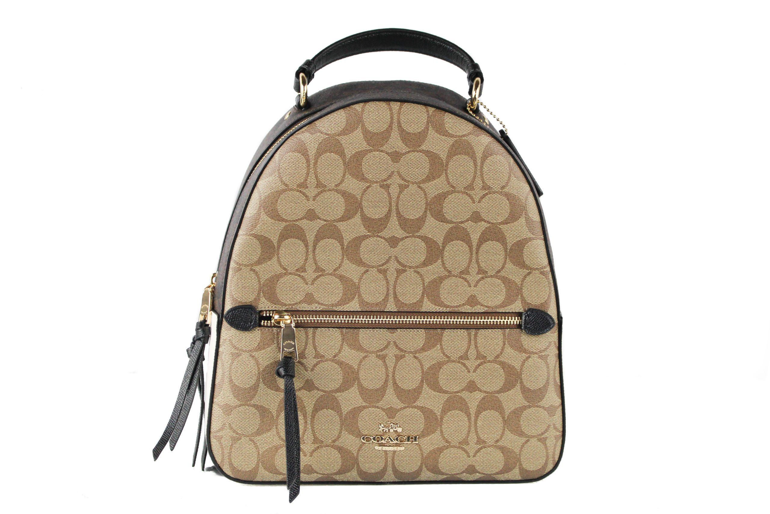 COACH Women's Jordyn Backpack Khaki 38850