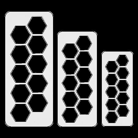 Geometrisk Multikutter Sekskant 3 stk