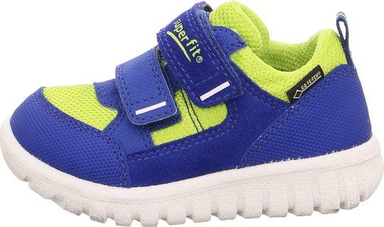 Superfit Sport7 Mini Sneaker, Blue/Yellow 30