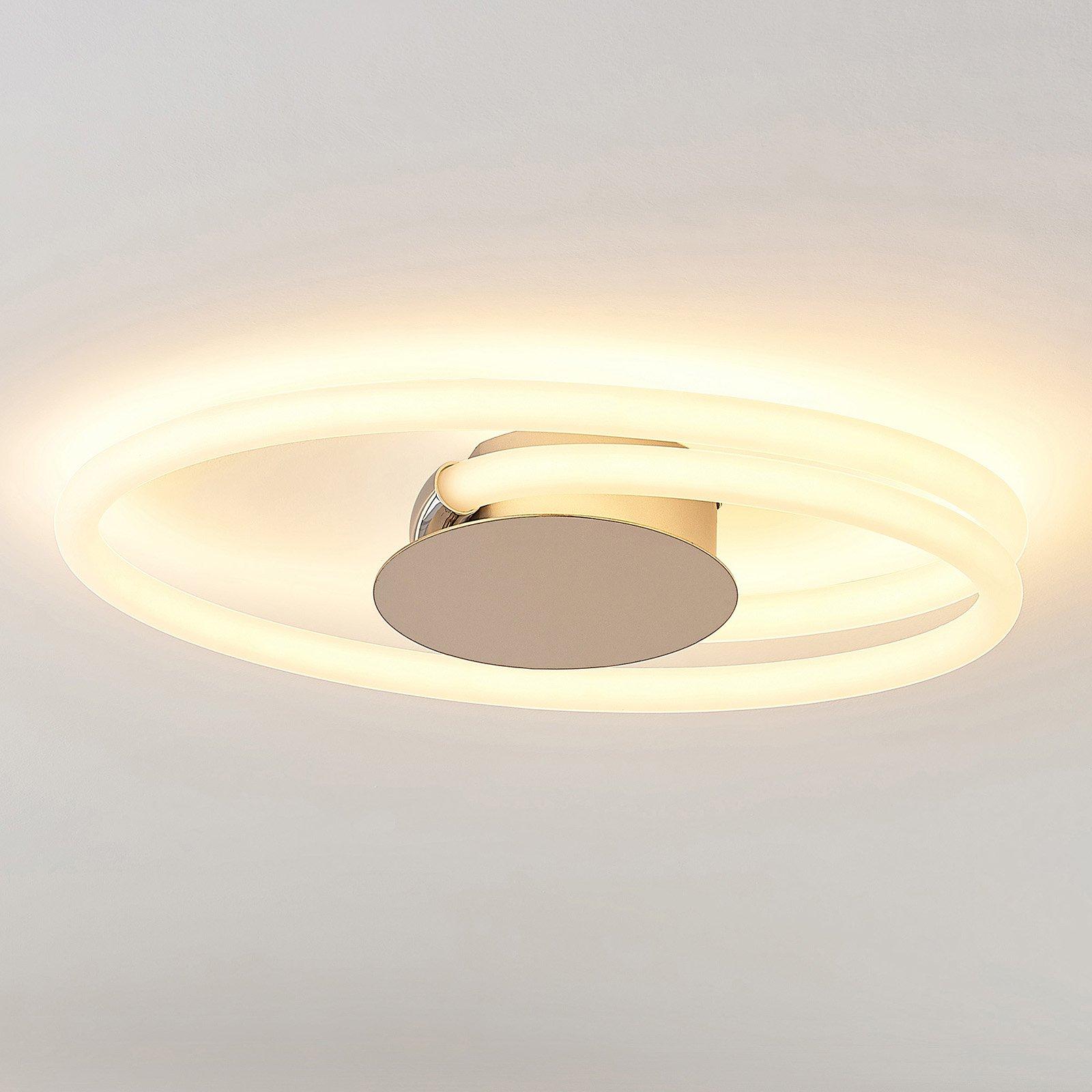 Lucande Ovala LED-taklampe, 53 cm