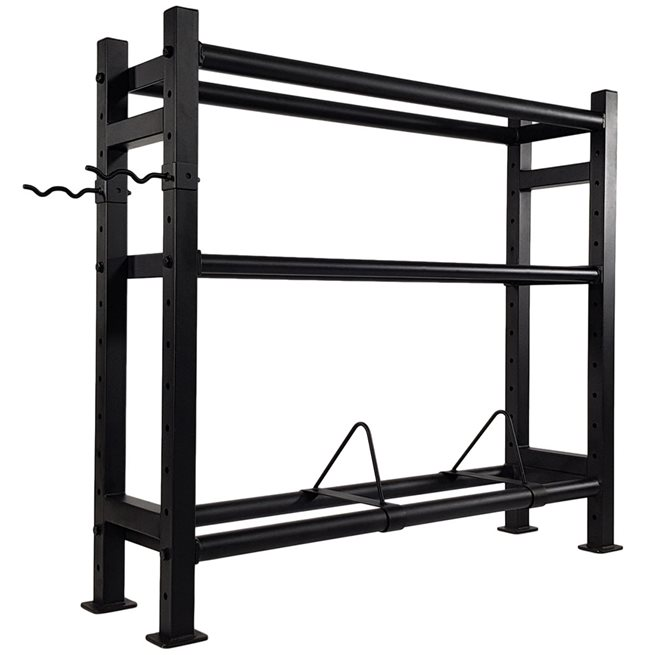 Tunturi Fitness Wall-Kettle-Bumper Multi Storage Rack (1/2), Ställning kettlebells