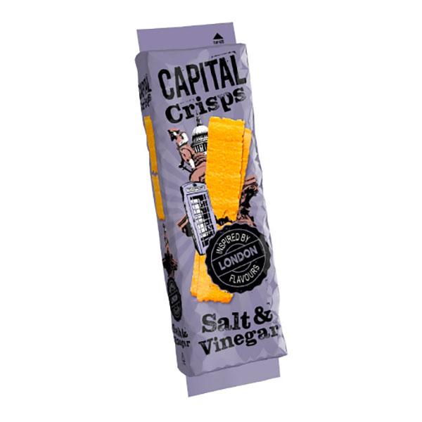 Capital Crisps London, Salt & Vinäger 75g