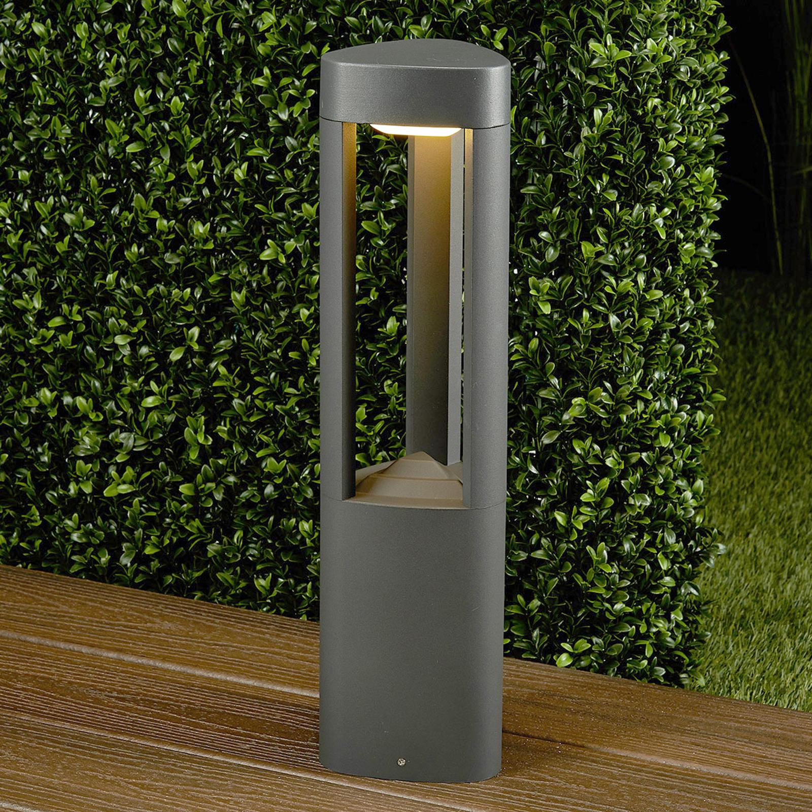 Kolmikulmainen Nanna-pylväsvalaisin alumiinia LED