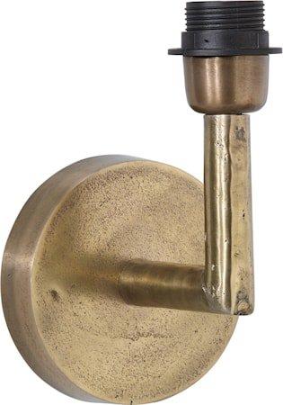 Columbus Vegglampe Råmessing 22 cm