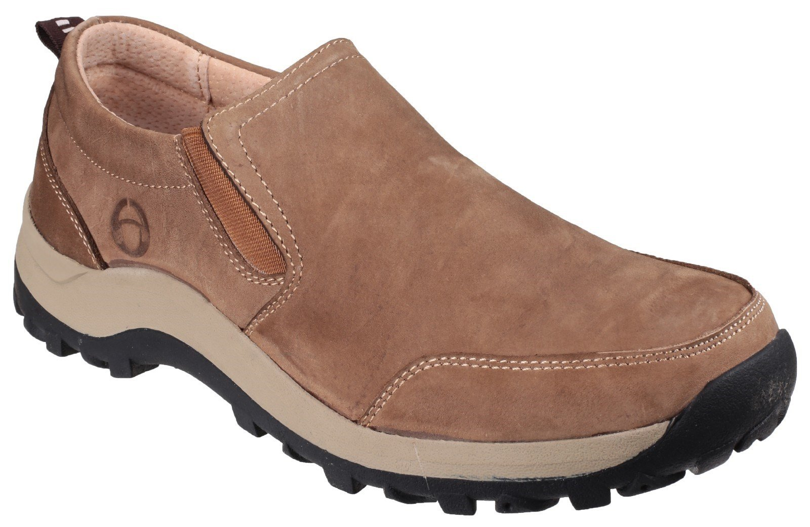 Cotswold Men's Sheepscombe Slip On Shoe Various Colours 23601 - Tan 6.5