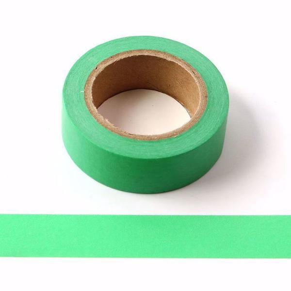 Dark Green Washi Tape