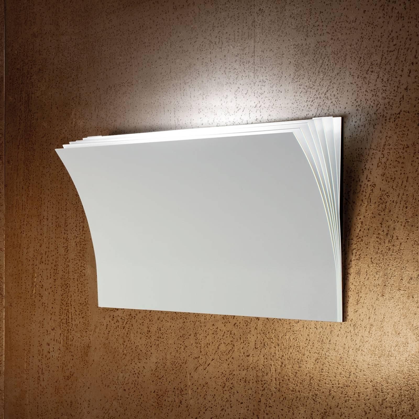 Axolight Polia LED-seinävalaisin, valkoinen 45 cm