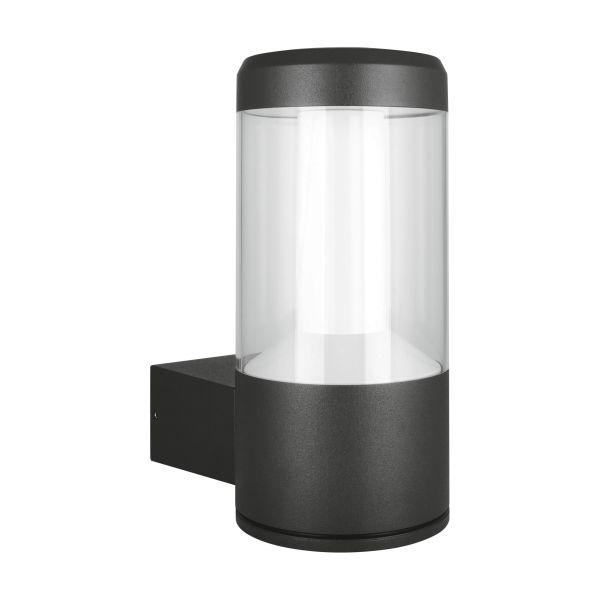 LEDVANCE Outdoor LED Facade Lantern Seinävalaisin 12 W, 3000 K, 610 lm, harmaa