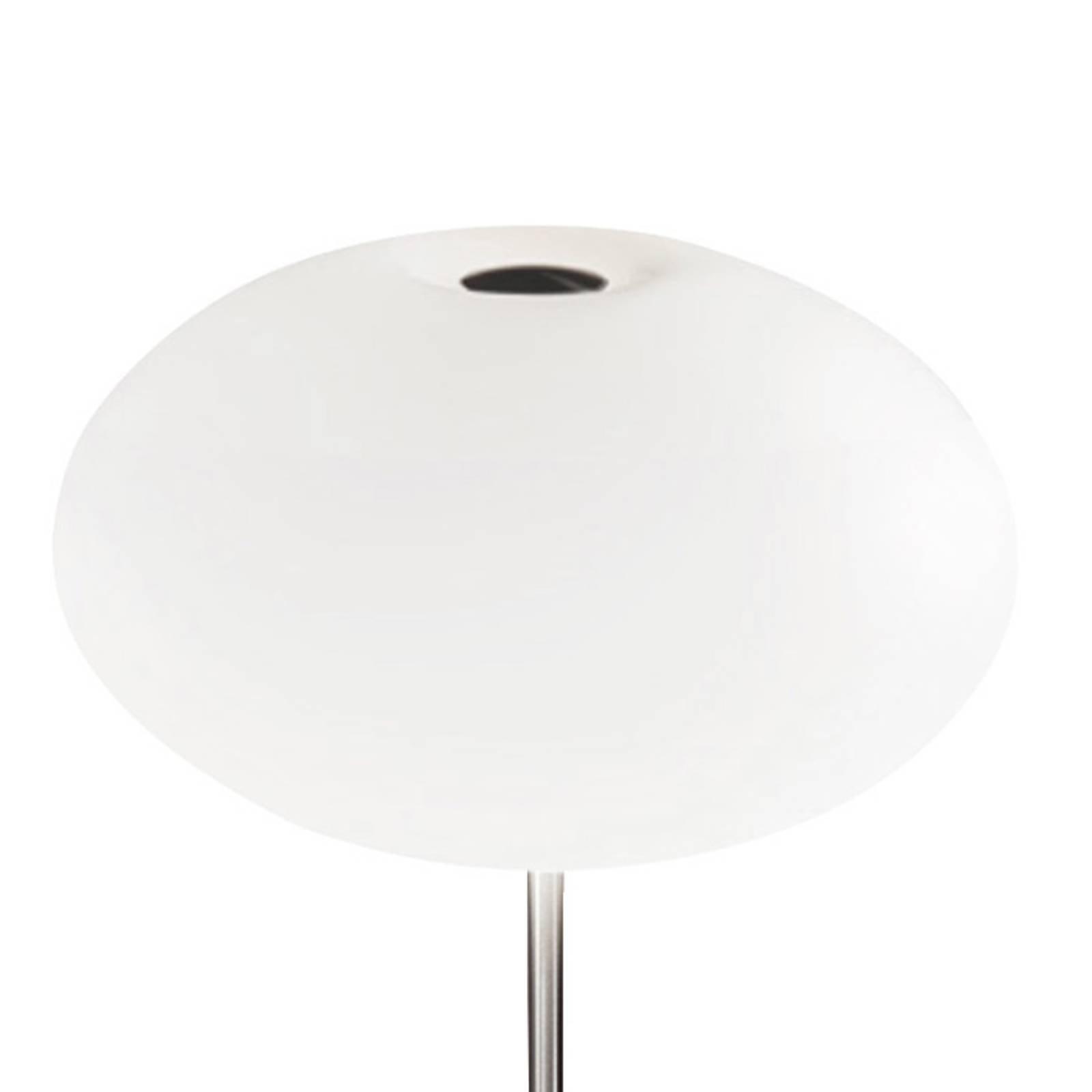Casablanca Aih bordlampe, Ø 28 cm hvit matt